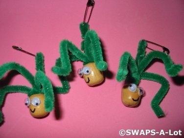 Mini Greek Medusa Greece Thinking Day Girl Scout SWAPS Kids Craft Kit makes 25