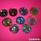 Mini Groovy Glass Gems Girl Scout SWAPS Kids Craft Kit makes 12