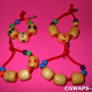 Mini Greek Worry Beads Greece Thinking Day SWAPS Kit for Girl Kids Scout makes 25