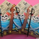 Mini Pirate Card Sword Map SWAPS Kit for Girl Kids Scout makes 25