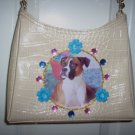 DIY Boxer Handbag Purse Clutch Pocketbook OOAK