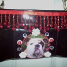 DIY Bulldog Handbag Purse Clutch Pocketbook OOAK