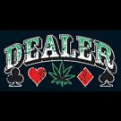 Dealer~Pot Leaf- Large