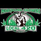 Marijuana Union Local 420- Extra Large