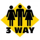 3 Way Sign- Medium