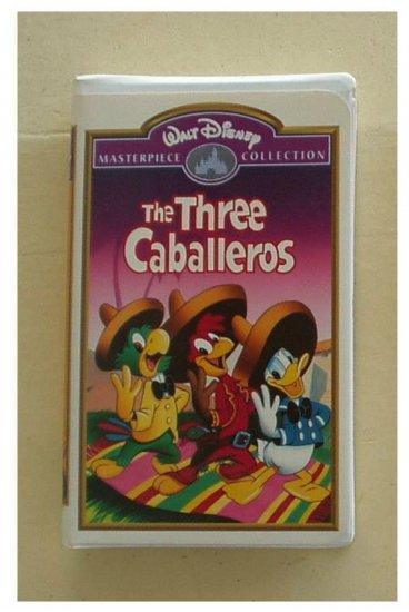 Disney Movie ~The Three Caballeros ~ VHS Original 1944