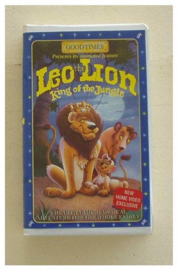 Leo the Lion, King of the Jungle VHS Great Family Movie