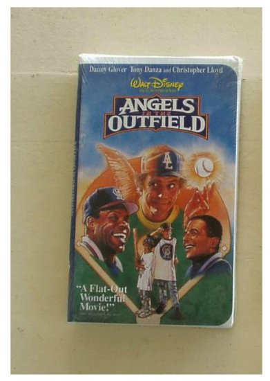 Angels In the Outfield VHS Great Family Movie New Sealed