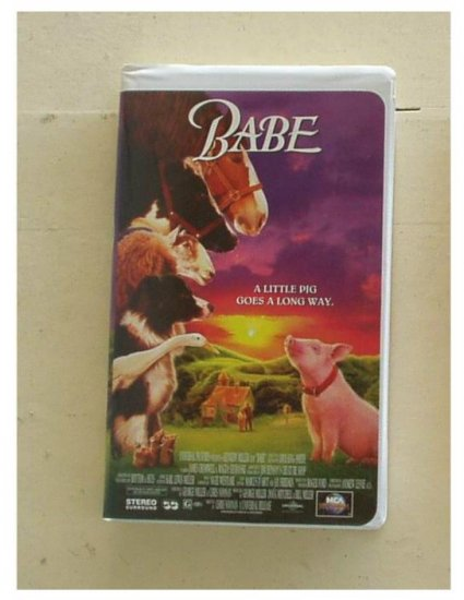 BABE Great Family Movie Clamshell Gently Used VHS