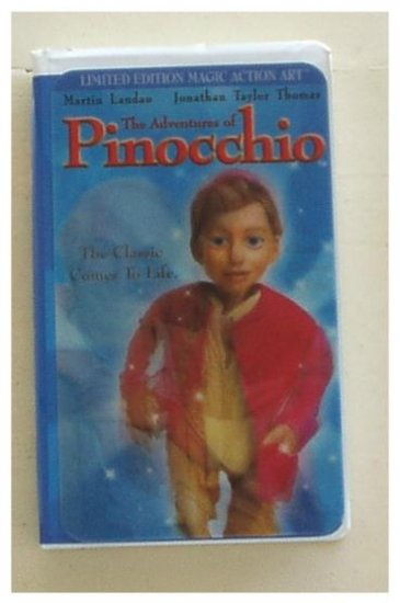 The Adventures of Pinocchio (1996, VHS)