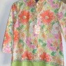 Womans Van Heusen Quarter sleeve shirt (XS)