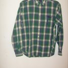 Mens Tommy Jeans Green, Blue, White, yellow Plaid Shirt (M)