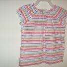 Girls Circo Striped short sleeve shirt (3T)