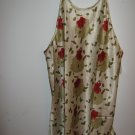 Womans  Just Love flower night gown (3X)
