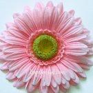 """4"""" Pink Gerbera Daisy Flower Clip"""