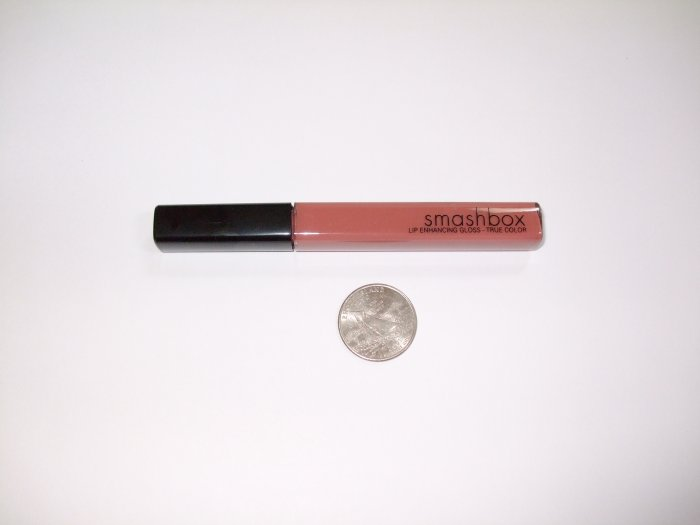 Smashbox Lip Enhancing Gloss in *SMITTEN*~NUDE ROSE BRAND NEW COLOR