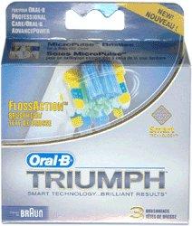 Oral B FlossAction Brush Head - 3pk