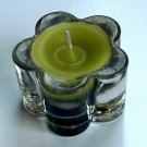Aroma Candle in Flower Glass