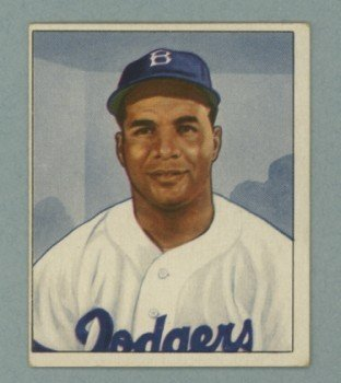 1950 Bowman # 75 Roy Campanella Dodgers HOF VG - EX