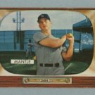 1955 Bowman # 202 Mickey Mantle Yankees HOF EX