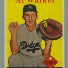 1958 Topps # 203 AL WALKER Dodgers