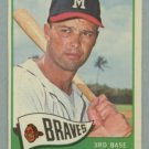 Vintage 1965 Topps # 500 Eddie Mathews Braves HOF