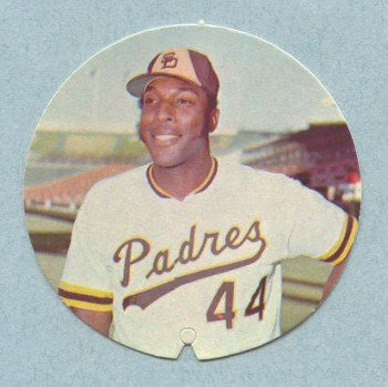 1974 Padres McDonald Discs # 9 Willie McCovey HOF Padres