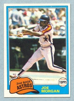 1981 Topps # 560 JOE MORGAN Reds HOF NM - MT+