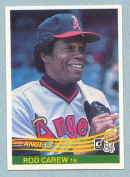 1984 Donruss # 352 Rod Carew HOF Angels