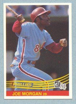 1984 Donruss # 355 Joe Morgan HOF Phillies