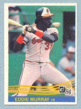 1984 Donruss # 47 Eddie Murray HOF Orioles