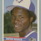 1984 Donruss # 32 Tony Fernandez Rated Rookie RC