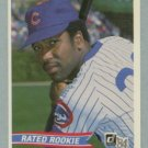 1984 Donruss # 41 Joe Carter Rated RC Cubs Rookie