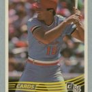 1984 Donruss # 83 Andy Van Slyke RC Cardinals Rookie