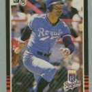 1985 Donruss # 53 George Brett HOF Royals