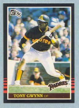 1985 Donruss # 63 Tony Gwynn Padres
