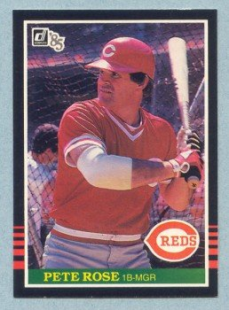 1985 Donruss # 641 Pete Rose Reds