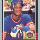 1985 Leaf # 159 Darryl Strawberry Mets