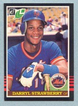 1985 Leaf # 159 Darryl Strawberry Mets