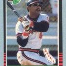 1985 Leaf # 170 Reggie Jackson HOF Angels