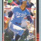 1985 Leaf # 176 George Brett HOF Royals
