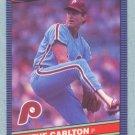1986 Leaf # 117 Steve Carlton HOF Phillies