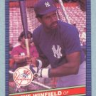 1986 Leaf # 125 Dave Winfield HOF Yankees
