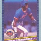 1986 Leaf # 131 Darryl Strawberry Mets