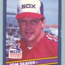 1986 Leaf # 234 Tom Seaver HOF White Sox