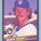 1986 Leaf # 31 Robin Yount HOF Brewers