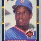 1987 Donruss # 199 Dwight Gooden Mets