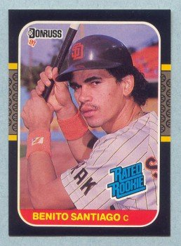 1987 Donruss # 31 Benito Santiago Padres