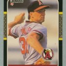 1987 Donruss # 407 Chuck Finley RC Angels Rookie