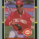 1987 Donruss # 492 Barry Larkin RC Reds Rookie